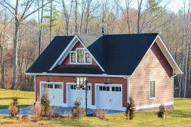 plan 500020vv modern farmhouse with matching detached garage