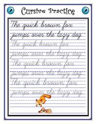 26 best cursive images on pinterest cursive handwriting practice