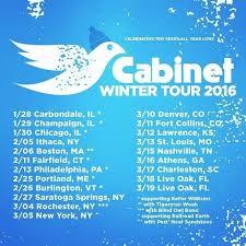 cabinet extends winter tour announces susquehanna breakdown dates