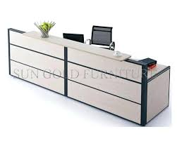 Mini Reception Desk Mdd Mini Wave Reception Deskreception Counter Standard Dimensions