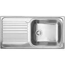 stainless sink with drainboard kitchen bar sinks the home depot canada