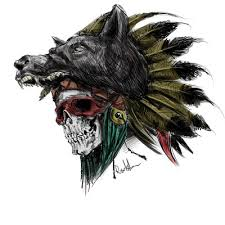 indian skull design sketch by isti2010 on deviantart