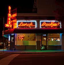 3rd street diner late night in richmond virginia beautiful