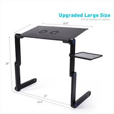 Standard Desk Length by Adjustable Folding Laptop Table Desk Stand Longko Notebook Stand