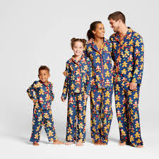 holiday stripe knit family pajama set matching family christmas