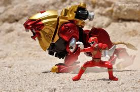 toy photography addict power rangers wild force