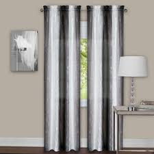 Black Check Curtains Curtain Grey Black And White Curtain Panelsblack Checked