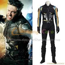 x men apocalypse logan wolverine uniform cosplay costume men fancy