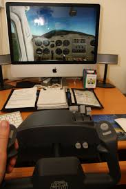 Flight Sim Desk Flight Simulator For Student Pilots At Home Plane Adventures