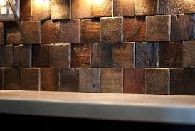 wood backsplash kitchen reclaimed wood backsplash kitchen home design ideas wood tile