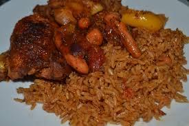 cuisiner le riz recette du riz au gras jollof rice cuisine togolaise