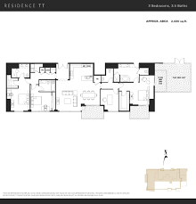 townhome floor plans the mark condos downtown san diego condos