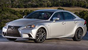 lexus is f sport 2017 a visual comparison between the 2017 lexus is and its predecessor
