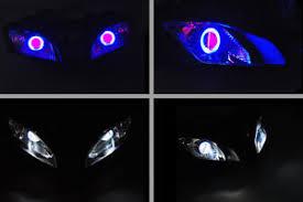 yamaha r6 halo lights sto projector headlight halo bi xenon devil angel eyes for yamaha