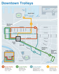Cleveland Ohio Map Getting Around Town A Basic Grid Lesson Saa 2015 Cle