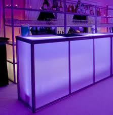 bar rentals 6 translucent bar town country event rentals