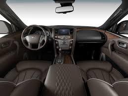 infiniti qx80 vs lexus gx 460 2014 infiniti qx80 suv car beige dashboard interior 2014