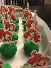 little mermaid rice crispy treats my creations pinterest rice