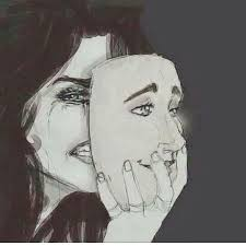 a mask is what makes us hurt show us how you really are let your