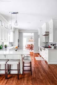 white shaker kitchen cabinets wood floors custom white shaker cabinets for a kitchen in new