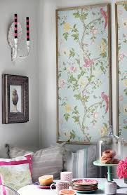 Wallpaper Designs For Home Interiors by 11 Unexpected Ways To Decorate With Wallpaper Framed Wallpaper