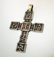 avery crosses avery 50th anniversary cross pendant retired sterling silver