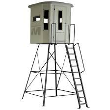 muddy box blind combo 16 5 u0027 654225 tower u0026 tripod stands at
