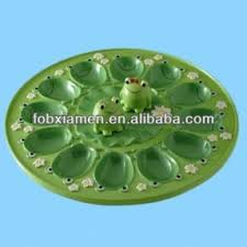 antique deviled egg plate pad plates foter