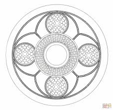celtic mandala coloring free printable coloring pages free
