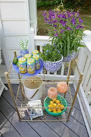 Flowering Patio Plants Potted Plants Flowers Add Color To Patio Makeover