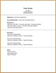 Resume Sample For Students With No Experience by No Experience Resume Sample Jennywashere Com