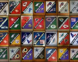 Nfl Curtains Nfl House Divided Etsy