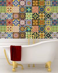 Tile Stickers by Sticker Set Mexican Tile Tile Stickers Decorative Tiles Vinyl