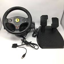 thrustmaster gt experience review logic 3 ps2 topdrive gt1 wheel and pedals ebay