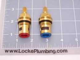 broadway 26 58351 2 ceramic dual stems per pair locke plumbing