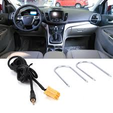 for fiat grande punto aux input 3 5mm jack lead cable adapter with