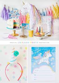 unicorn birthday party simple sweet unicorn birthday party ideas hostess with the