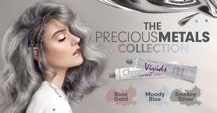 pravana silver hair color pravana vivids precious metals line smokey silver sklep