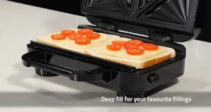 Breville Sandwich Toaster Breville Deep Fill Sandwich Toaster Cooking Gizmos