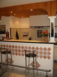 cuisine avec bar comptoir cuisine ouverte avec comptoir 7 amacricaine acquipace bar pour