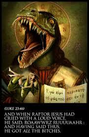 Zombie Jesus Meme - raptor jesus meme hell wikia fandom powered by wikia