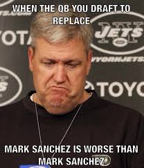 Mark Sanchez Memes - 22 meme internet when the qb you draft to replace mark sanchez is