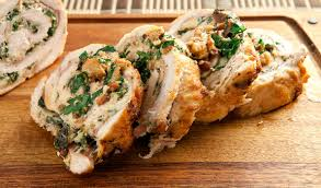 stuffed turkey breast recipe stuffed turkey roasted turkey