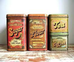 vintage kitchen canister sets vintage kitchen canisters babca club