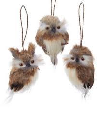 owl ornament ebay