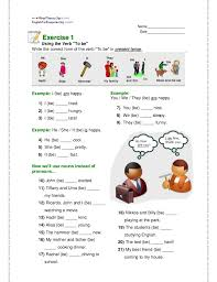 verb to be exercises abril
