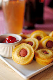 mini corn dog muffins found this recipe on pinterest by iowa