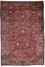 Persian Oriental Rugs by Large Persian Mashad 13x19 Wool Oriental Rug 3452