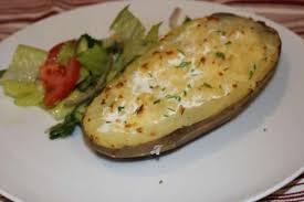 pomme de terre en chambre recette pommes de terre au four farcies à la crème et au gruyère