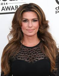 shania twain debuts a color glamour